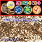 SNAZAROO FACE PAINT GLITTER GEL RED GOLD 12ML TUB